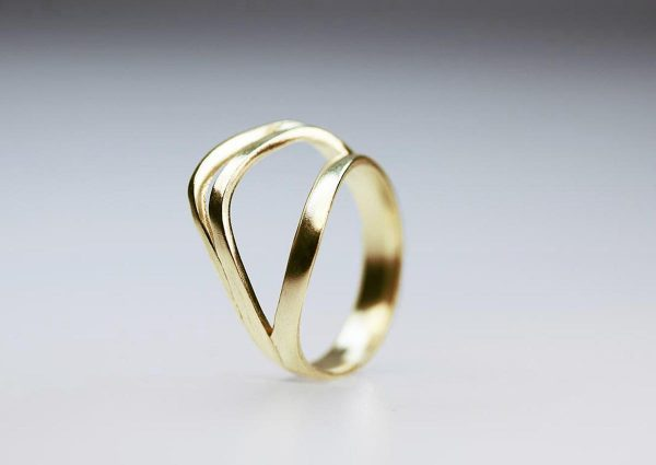 Unfold no2 gold Ring